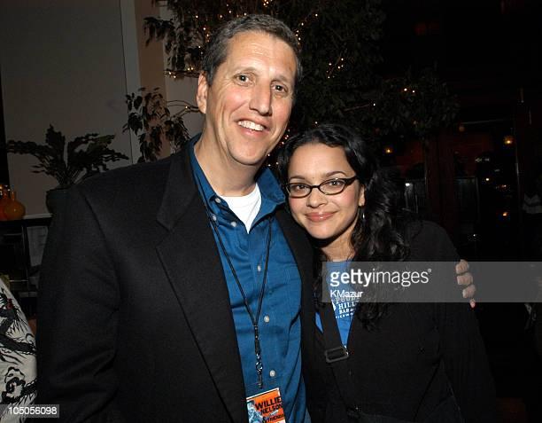 Doug Herzog President of USA Networks and Norah Jones