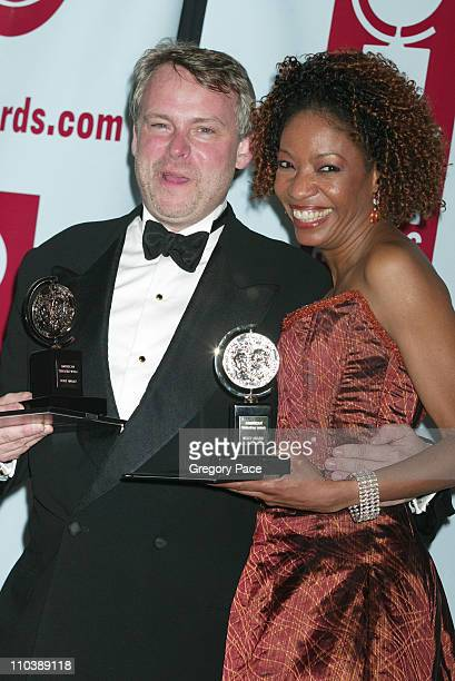 Doug Hughes winner Best Direction of a Play for Doubt and Adriane Lenox winner Best Performance by a Featured Actress in a Play for Doubt