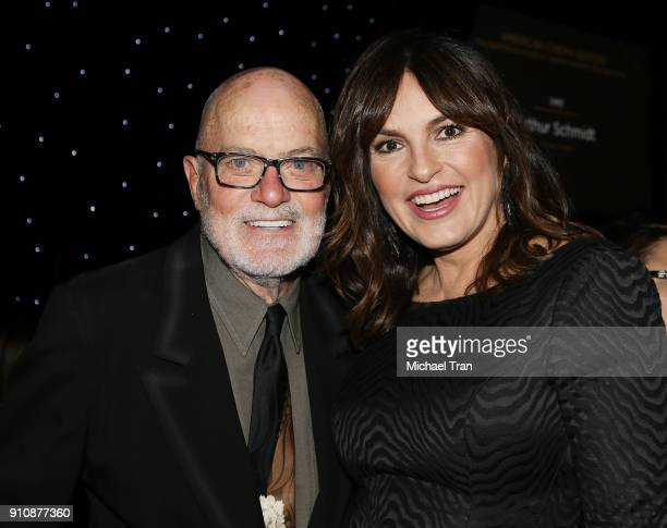 Doug Ibold and Mariska Hargitay attend the 68th Annual ACE Eddie Awards held at The Beverly Hilton Hotel on January 26 2018 in Beverly Hills...