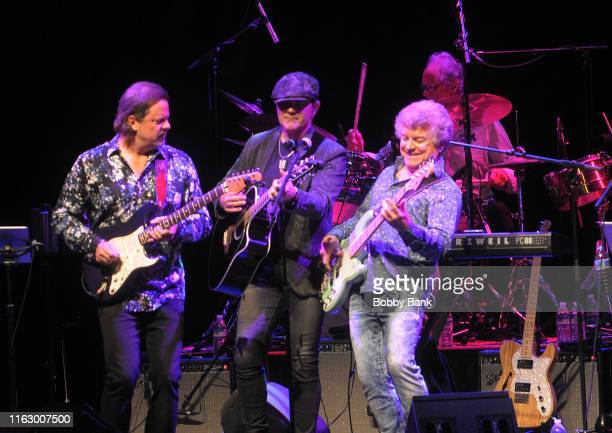 Doug Jackson Ken Stacey and Joe Puerta of Ambrosia perform at Rock The Yacht 2019 at Mayo Center Performing Arts on August 20 2019 in Morristown New...