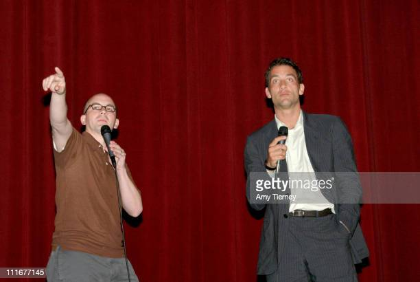 Doug Jones and Clive Owen during 2004 Los Angeles Film Festival 'I'll Sleep When I'm Dead' Screening at Directors Guild of America in Los Angeles...