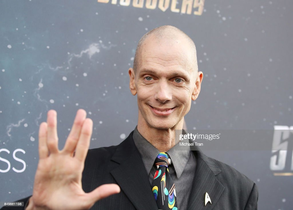 Doug Jones attends the Los Angeles premiere of CBS's 'Star Trek: Discovery' held at The Cinerama Dome on September 19, 2017 in Los Angeles, California.