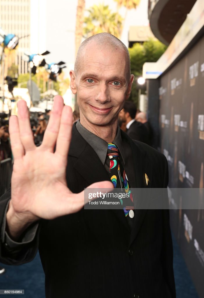 Doug Jones attends the premiere of CBS's 'Star Trek: Discovery' at The Cinerama Dome on September 19, 2017 in Los Angeles, California.