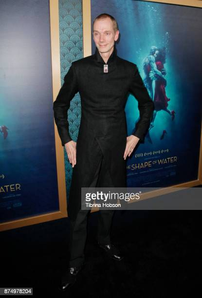 Doug Jones attends the premiere of 'The Shape Of Water' at Academy Of Motion Picture Arts And Sciences on November 15 2017 in Los Angeles California