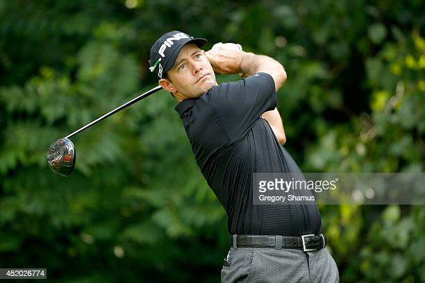 Doug LeBelle during the second round of the John Deere Classic held at TPC Deere Run on July 11 2014 in Silvis Illinois