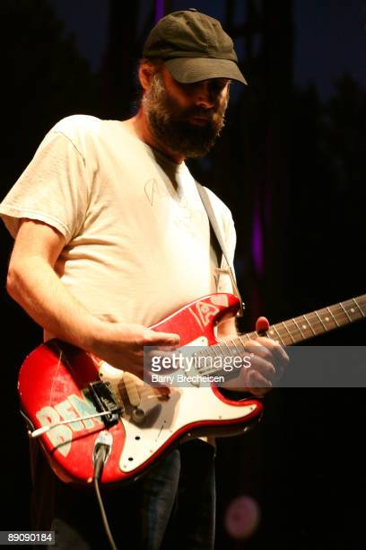 Doug Martsch of Built to Spill performs during the 2009 Pitchfork Music Festival at Union Park on July 17 2009 in Chicago Illinois