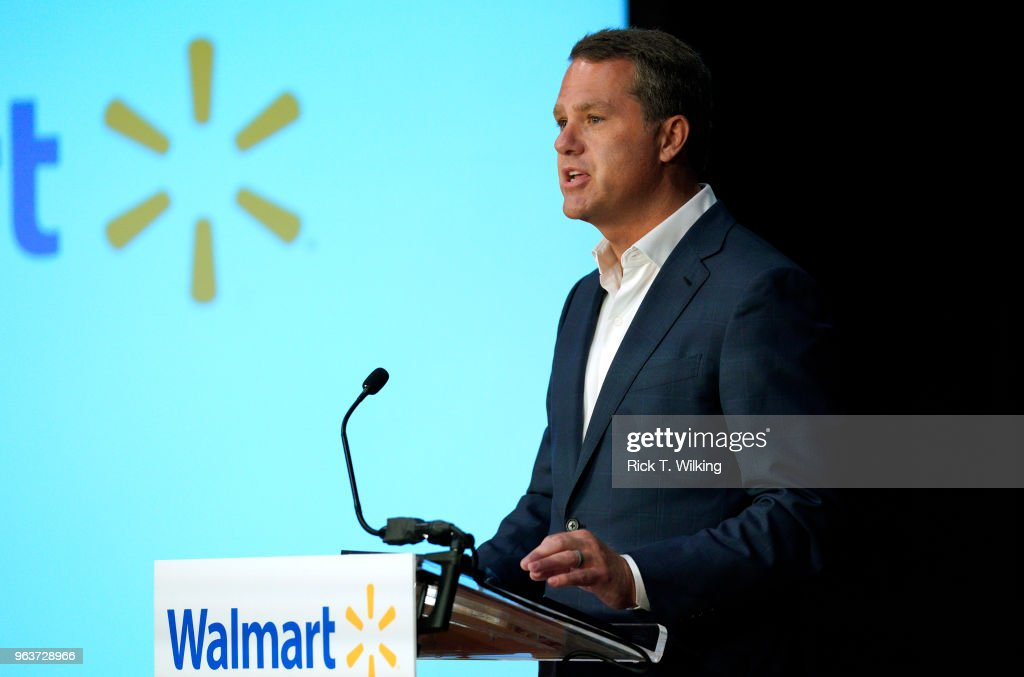 Walmart Holds Annual Multi-Day Shareholders Meeting In Arkansas : News Photo