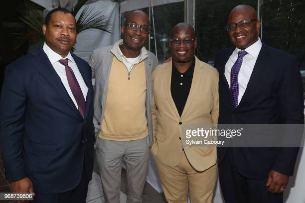 Doug Melancon Brian Mathis Andre Harrell and Frank Cooper attend the Museum of the City of New York Chairman's Leadership Award Dinner on June 6 2018...