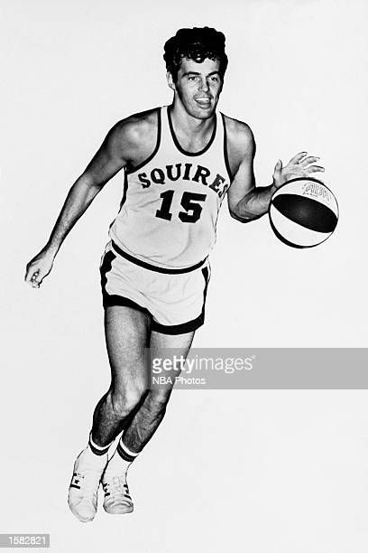 Doug Moe of the Virginia Squires moves the ball during the ABA game in Virginia NOTE TO USER User expressly acknowledges and agrees that by...