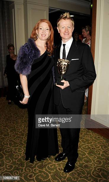 Doug Mowat arrives at the dinner following the Orange British Academy Film Awards at Grosvenor House on February 13 2011 in London England