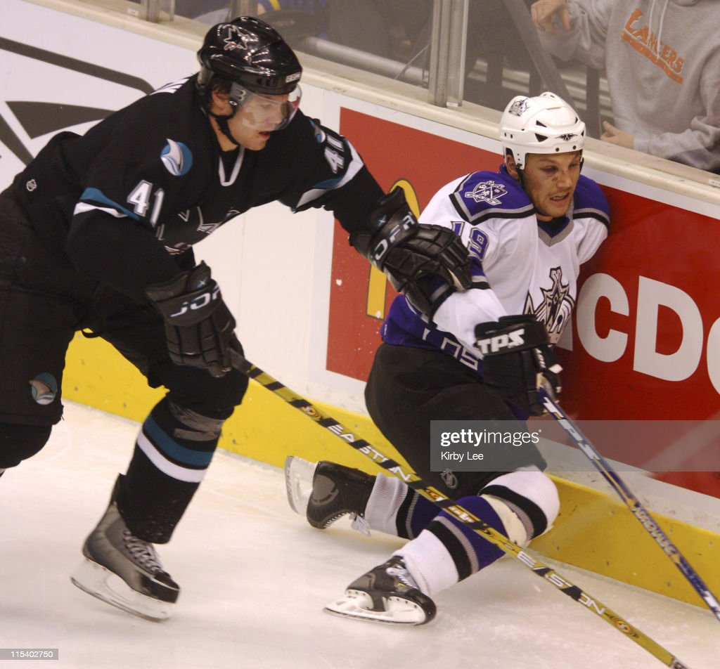 San Jose Sharks vs Los Angeles Kings - January 21, 2006