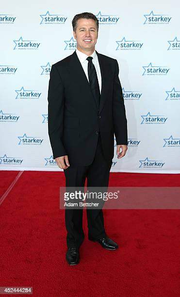 Doug Pitt walks the red carpet at the 2014 Starkey Hearing Foundation So The World May Hear Gala at the St Paul RiverCentre on July 20 2014 in St...