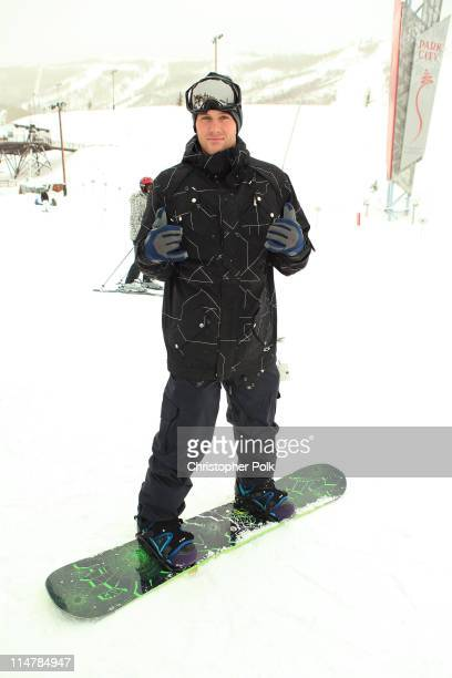Doug Reinhardt attends Oakley 'Learn To Ride' Snowboard fueled by Muscle Milk at Oakley Lodge on January 23 2010 in Park City Utah