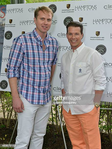 Doug Rosenblum and Brian Vaske attend the Hamptons Magazine Celebration of Memorial Day Cover Star Heidi Klum on May 24 2014 in Southampton New York