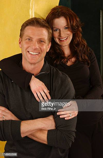 Doug Savant and Laura Leighton during Laura Leighton and Doug Savant Photo Session March 9 2005 in Los Angeles California United States