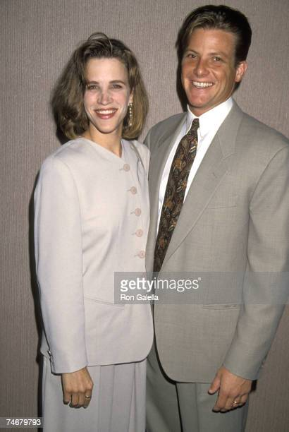 Doug Savant and wife Dawn Dunkin at the Century Plaza Hotel in Los Angeles, California