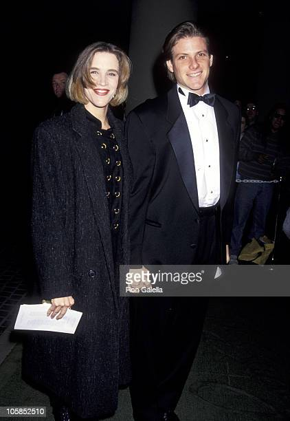 Doug Savant and wife Dawn Dunkin during 1993 American Friends Hebrew University Scopus Awards Honoring Aaron Spelling at Beverly Hilton Hotel in...
