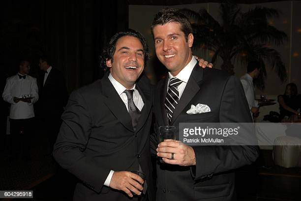 Doug Scott and Chris Stern attend LIZZIE GRUBMAN and CHRIS STERN Wedding Reception at Cipriani 42nd on March 18 2006 in New York City