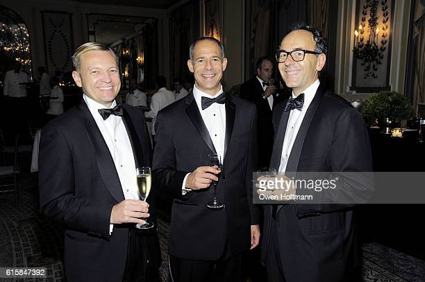 Doug Teresko Adam Phillip and Jan van Eck attend The Boys' Club of New York 68th Annual Fall Dance at The Pierre Hotel on October 19 2016 in New York...