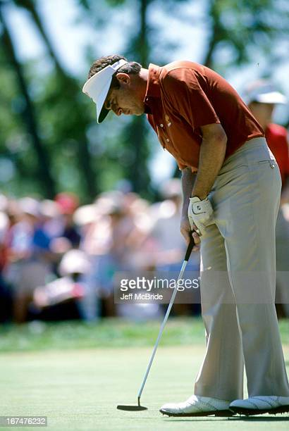 Doug Tewell during the 67th PGA Championship held at Cherry Hills Country Club in Englewood Colorado August 811 1985
