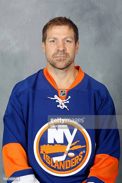 Doug Weight of the New York Islanders poses for his official headshot for the 20102011NHL season on September 17 2010 in Uniondale New York