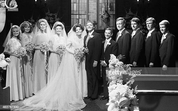 LIVES Doug Williams' Julie Anderson Wedding Pictured Brook Bundy as Rebecca LeClair Suzanne Rogers as Maggie Horton Rosemary Forsyth as Laura Horton...