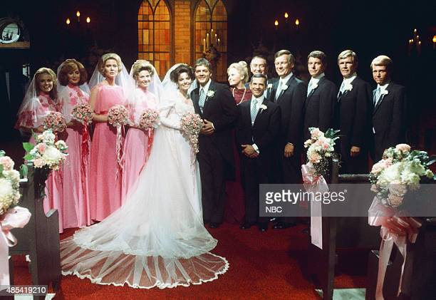 LIVES 'Doug Williams' Julie Anderson Wedding' Pictured Brook Bundy as Rebecca LeClair Suzanne Rogers as Maggie Horton Rosemary Forsyth as Laura...