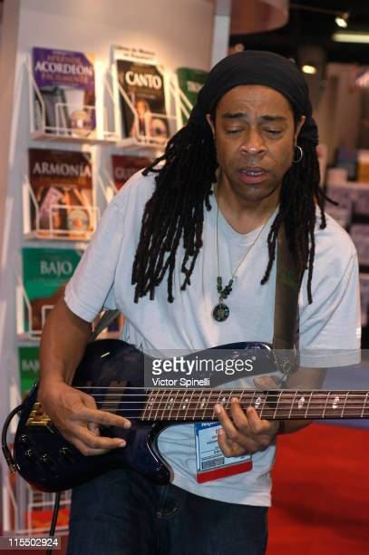 Doug Wimbish of Living Colour during 2005 NAMM Music Conference at Anaheim Convention Center in Anaheim California United States