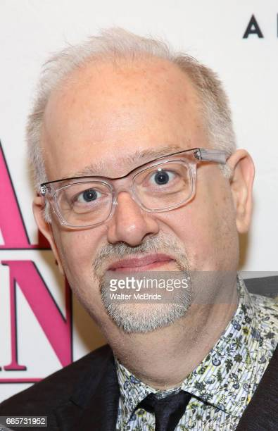 Doug Wright attends the Broadway opening night after party for 'War Paint' at Gotham Hall on April 6 2017 in New York City
