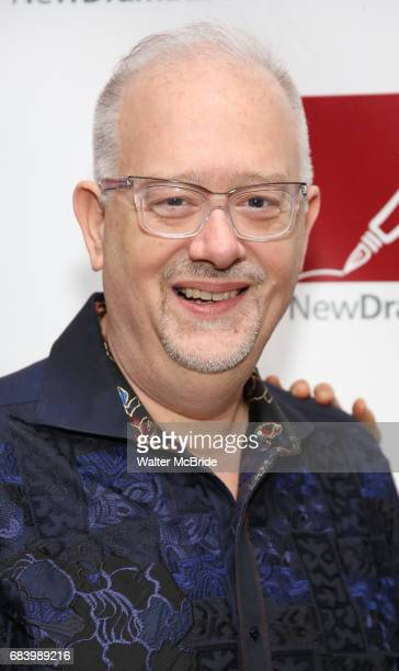 Doug Wright attends The New Dramatists' 68th Annual Spring Luncheon at the Marriott Marquis on May 16 2017 in New York City