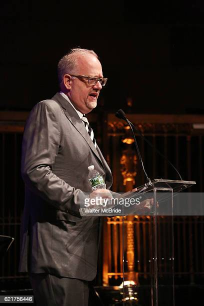 Doug Wright during the Dramatists Guild Fund Gala 'Great Writers Thank Their Lucky Stars The Presidential Edition' presentation at Gotham Hall on...