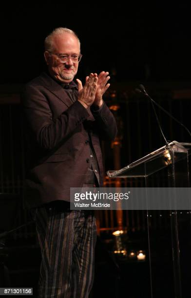 Doug Wright on stage at the 2017 Dramatists Guild Foundation Gala presentation at Gotham Hall on November 6 2017 in New York City