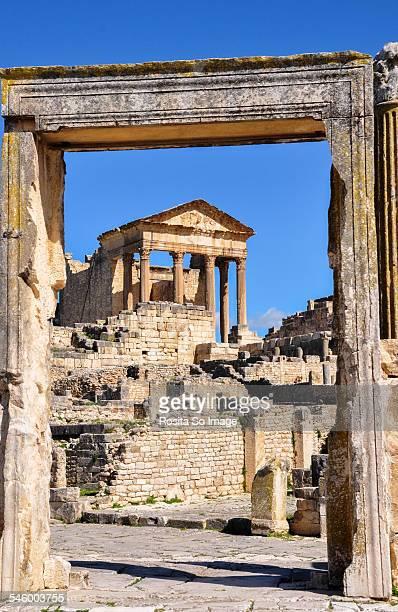 Dougga. ancient Roman city, Tunisia