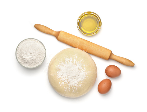 Dough and baking  ingredients 1014883882