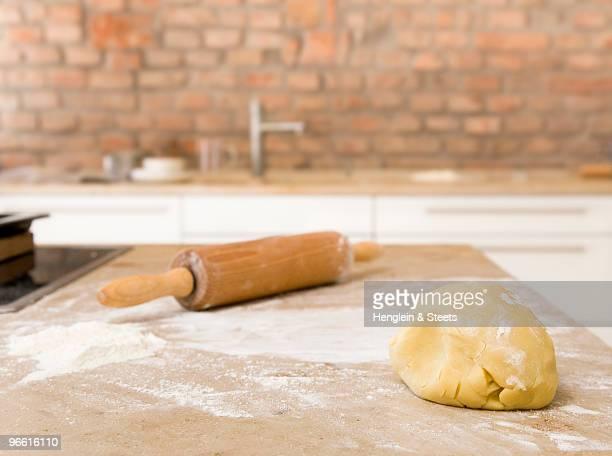dough for baking cookies