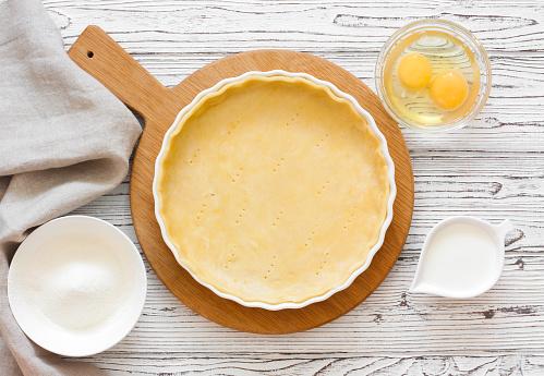 Dough for baking tart 930378174