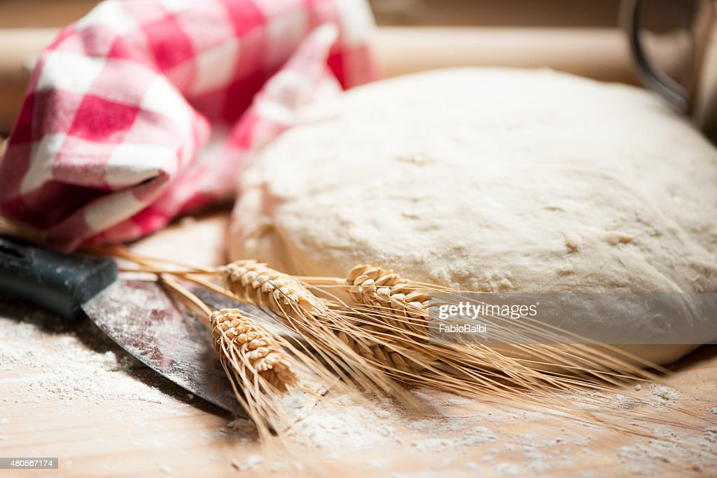 dough for bread : Stock Photo