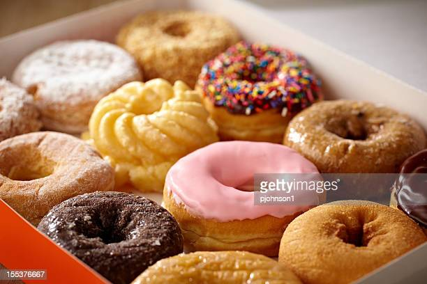 doughnuts - donut stock pictures, royalty-free photos & images