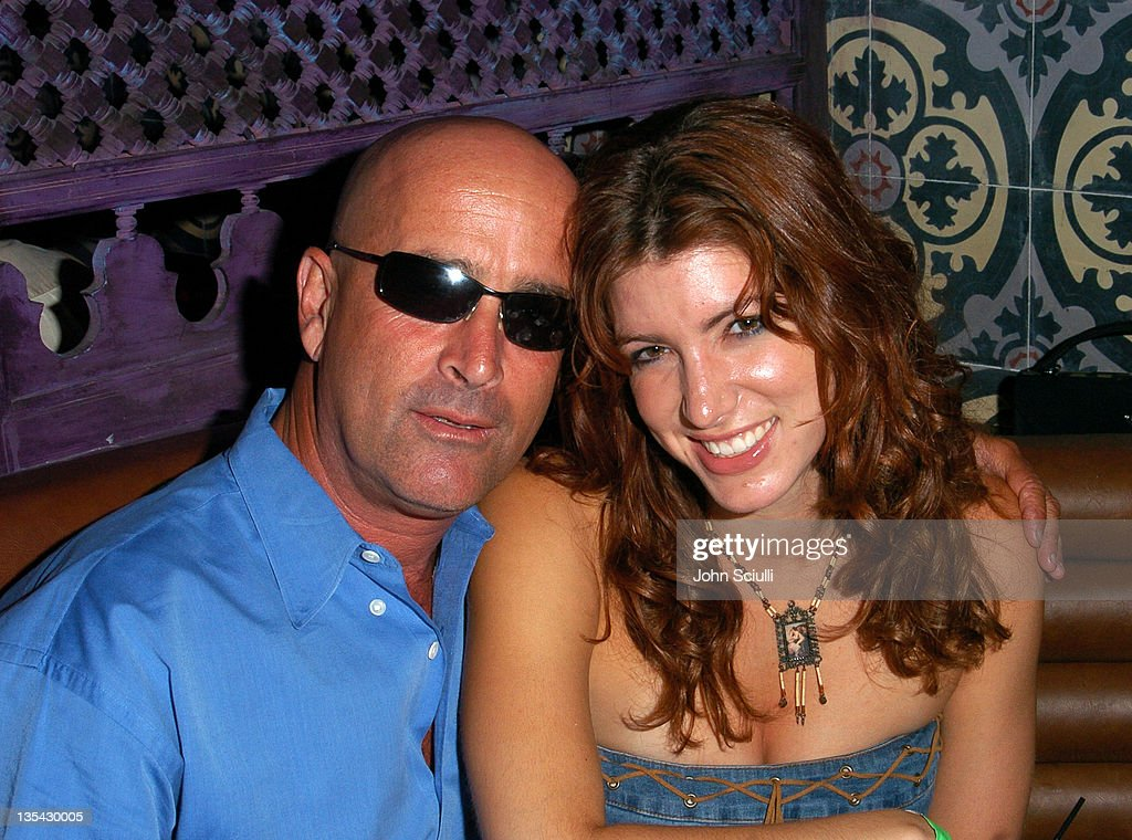 Dougie Block and Corinne Saffell during 'Confessions of a Burning Man' - After Party at The Spider Club in Hollywood, California, United States.