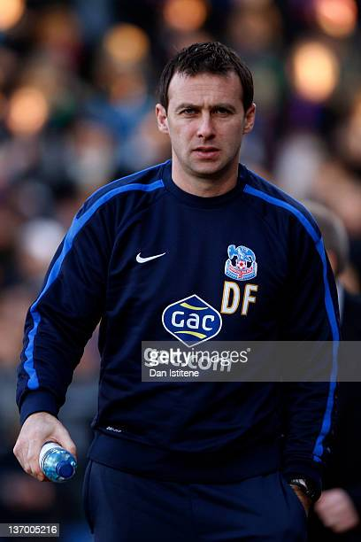Dougie Freedman manager of Crystal Palace walks out before the npower Championship match between Crystal Palace and Leeds United at Selhurst Park on...