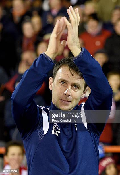 Dougie Freedman Nottingham Forest manager during the Sky Bet Championship match between Nottingham Forest and Wigan Athletic at City Ground on...