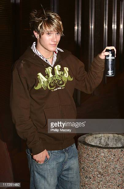 Dougie from McFly during Late Late Show - Arrivals - December 1, 2006 at RTE Studios in Dublin, Ireland.