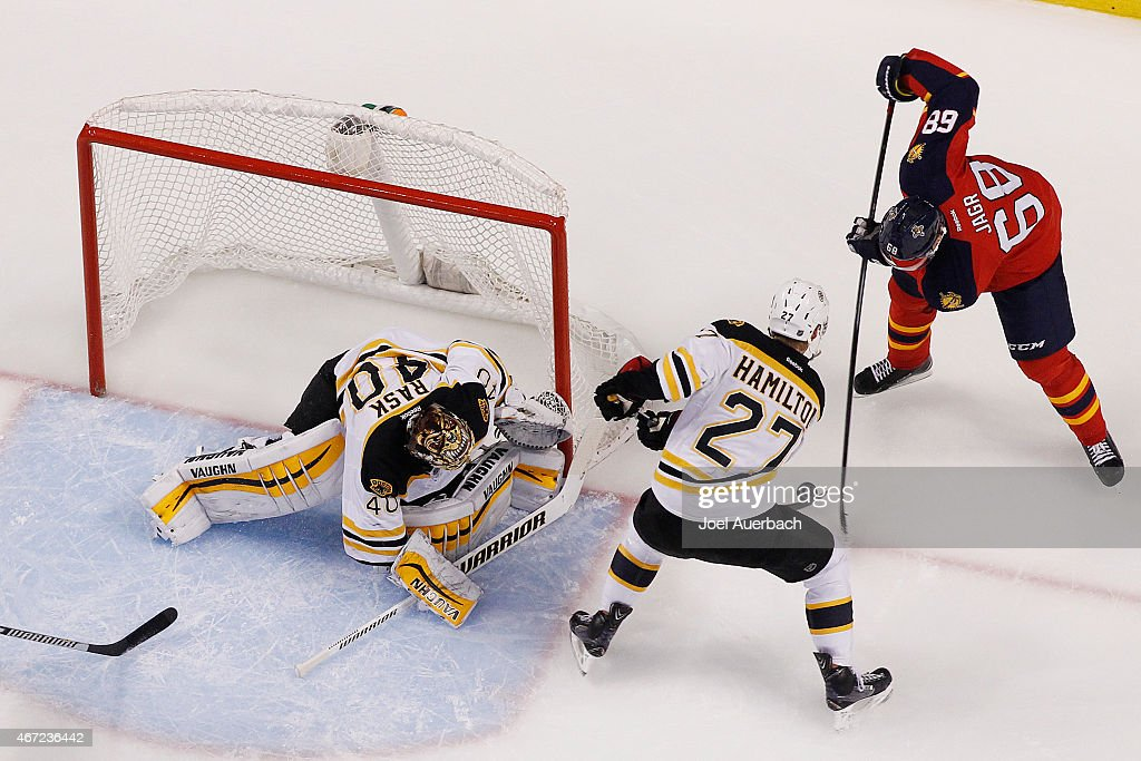 Boston Bruins v Florida Panthers : News Photo