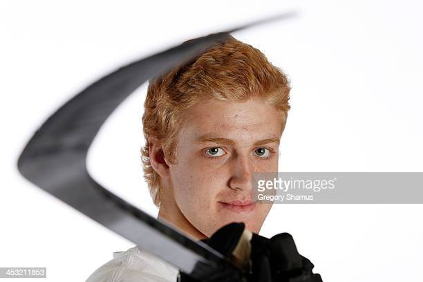 Dougie Hamilton of the Boston Bruins poses for an NHLPA The Players Collection portrait at The Westin Harbour Castle hotel on August 27 2012 in...