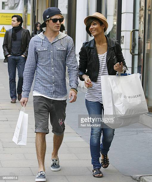Dougie Poynter and Frankie Sandford sighted in London after recently reuniting on April 21 2010 in London England