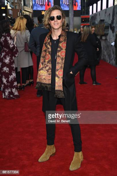Dougie Poynter attends the European Premiere of 'King Arthur Legend of the Sword' at Cineworld Empire on May 10 2017 in London United Kingdom