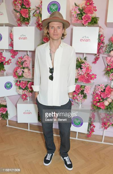 Dougie Poynter attends the evian Live Young suite at The Championships, Wimbledon 2019 on July 1, 2019 in Wimbledon, England.
