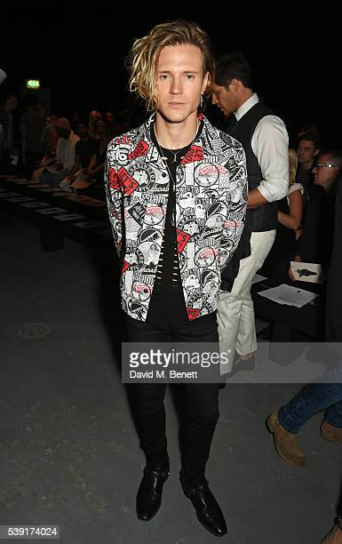Dougie Poynter attends the TOPMAN Design show during The London Collections Men SS17 at the Topman Show Space on June 10 2016 in London England