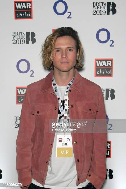 Dougie Poynter attends War Child BRITs Week Together With O2 At The 1975 Gig To Support Children Affected By Conflict at The Garage on February 18...