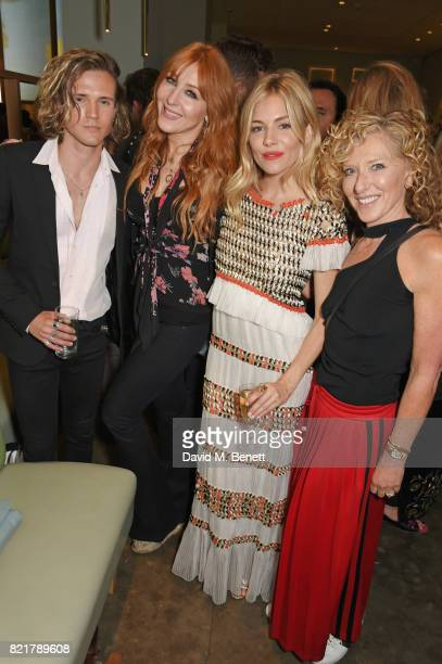 Dougie Poynter Charlotte Tilbury Sienna Miller and Kelly Hoppen attend the press night after party for 'Cat On A Hot Tin Roof' at The National Cafe...